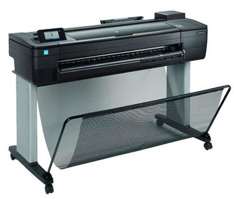 HP惠普绘图仪T730/T830如何清洗惠普728打印头